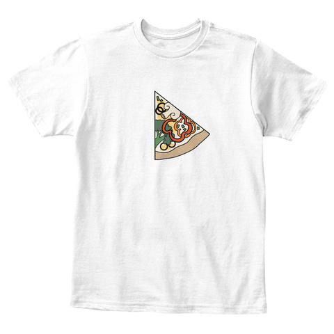 Slice Of Life   Kid White T-Shirt Front