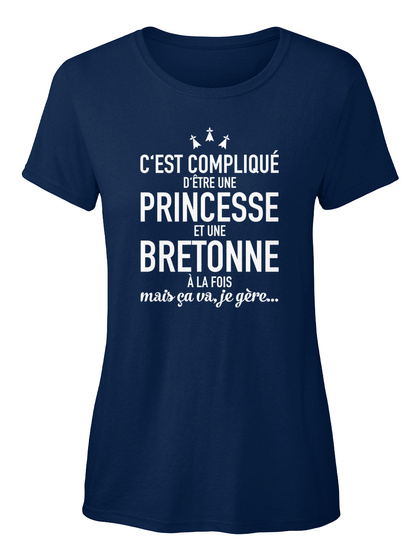 Edition Limitée!  Navy Women's T-Shirt Front
