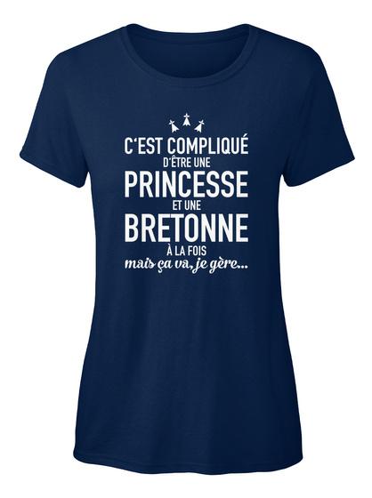 Edition Limitée!  Navy Women's T-Shirt Front