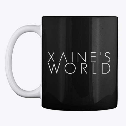Xaine's World Classic Black T-Shirt Front