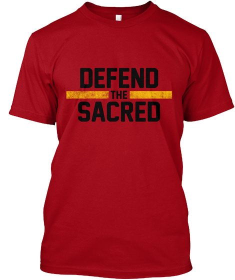 Defend The Scared T-Shirt Front