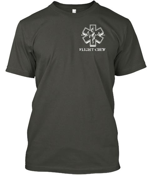 Flight Crew Smoke Gray T-Shirt Front