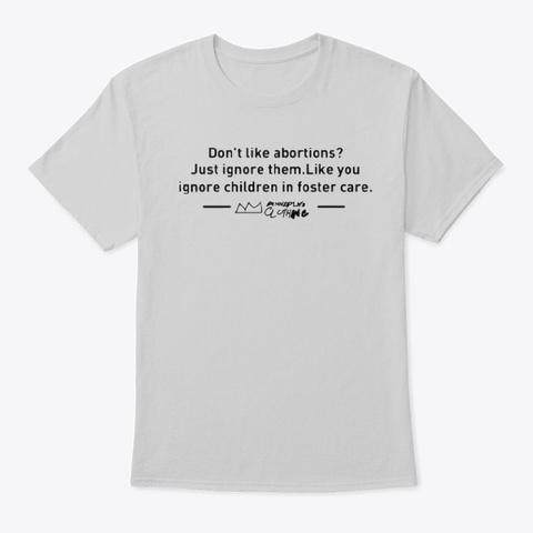 Oba Don't Like Shirt Light Steel T-Shirt Front