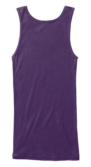 Love Your Neighbor (Women's Tank) Purple T-Shirt Back