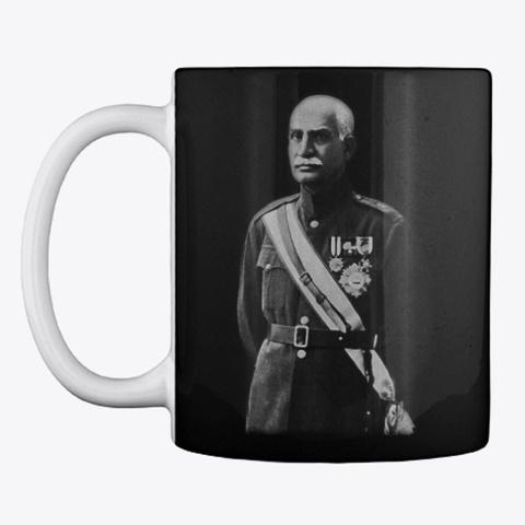 Khosro Fravahar Black Mug Front