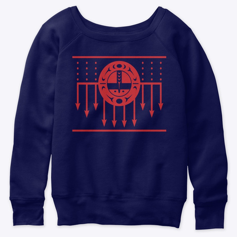 Sun Song Navy  T-Shirt Front