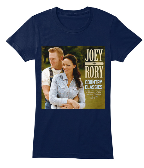 Joey Rory Country Classics Navy Women's T-Shirt Front