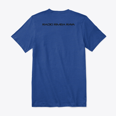 Rrr True Royal T-Shirt Back