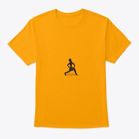 The Runner Of Prizren   Kosovo Gold T-Shirt Front