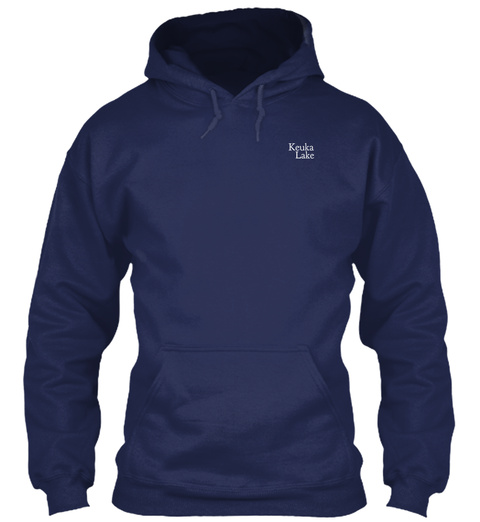 Keuka Lake Navy Sweatshirt Front