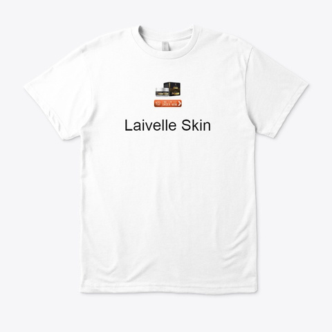 Laivelle Skin Serum   Anti Aging Product White Maglietta Front