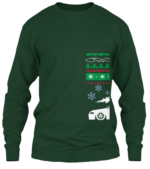 Hurry! Ending In Less Than 48 Hours! Forest Green T-Shirt Front