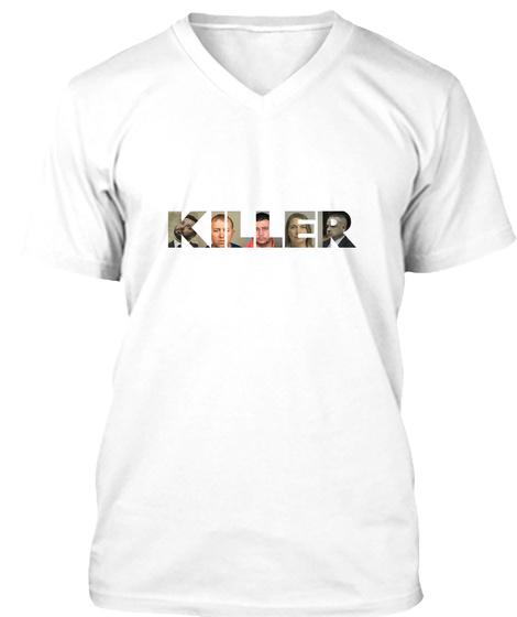 Killer White T-Shirt Front