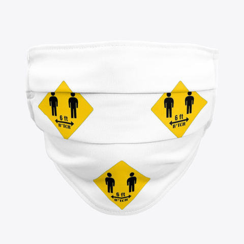 6 Ftb*Tch The Mask Standard T-Shirt Front
