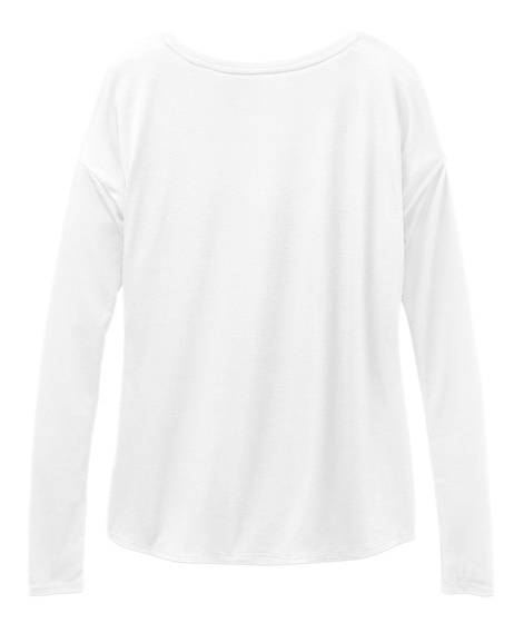 Shine Bright Dream Big Nap Often White Long Sleeve T-Shirt Back