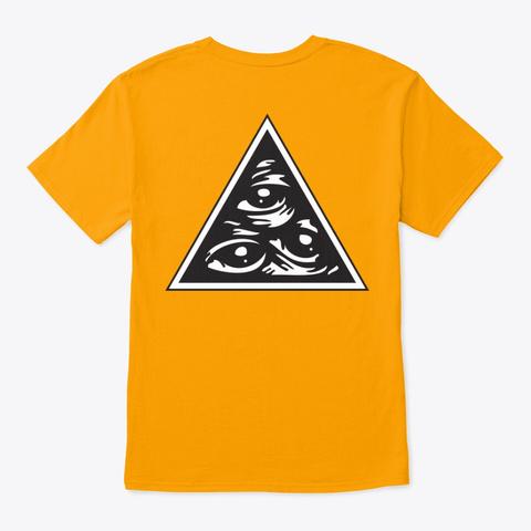 Azathoth Clan Gold T-Shirt Back
