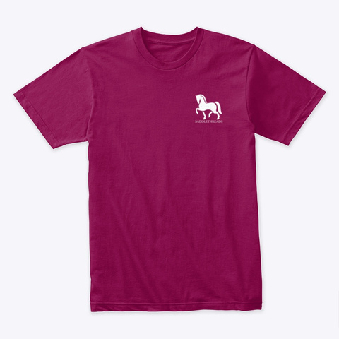Thankful Horse Cardinal T-Shirt Front