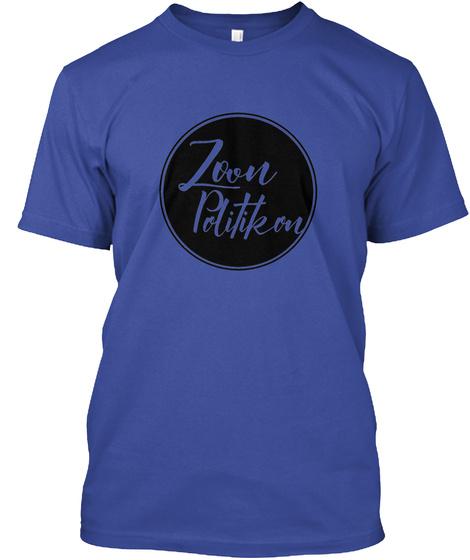 Zoon Politikon Deep Royal T-Shirt Front