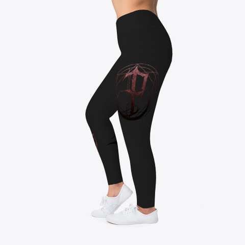 I, Pariah Logo Leggings  Black T-Shirt Left