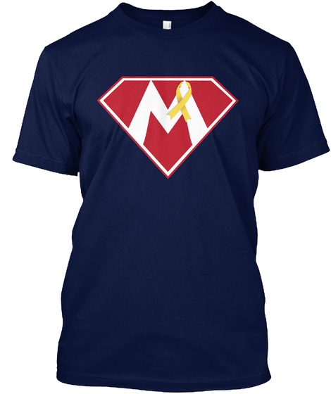 Team Super Mikey Shirts And Sweatshirt Navy T-Shirt Front