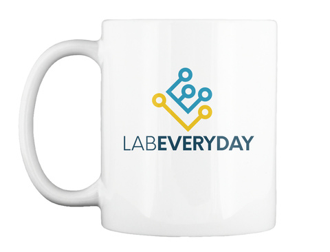 Labeveryday White T-Shirt Front