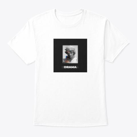 The Kech   Drama White T-Shirt Front