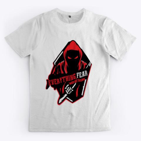 Mens Logo T Shirt White Standard T-Shirt Front