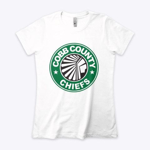 Gorgeous Snatch Ccc Coffee T  White T-Shirt Front