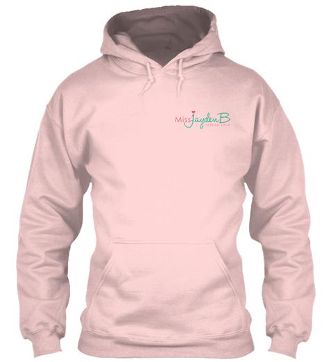 Miss Jayden B Spread Love Light Pink áo T-Shirt Front