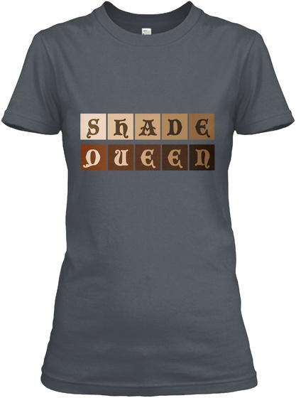 Shade Queen Heavy Metal T-Shirt Front