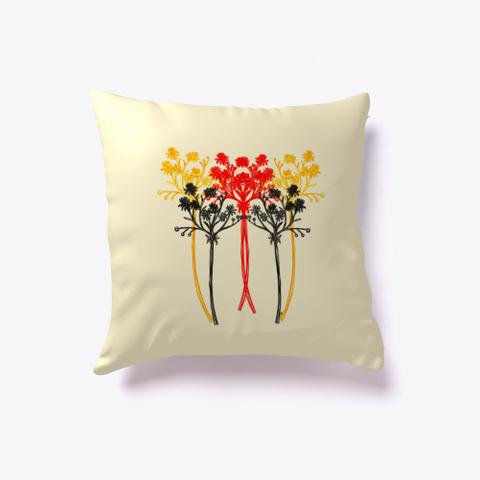 Elegant Wildflowers Light Yellow T-Shirt Back