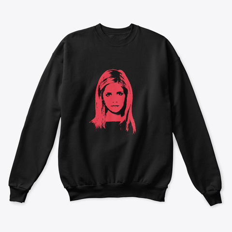 New! Buffy   Vol 2 Black Sweatshirt Front
