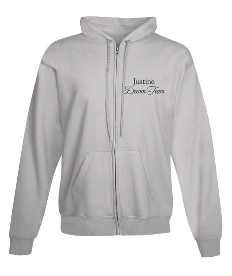 Justine Dream Team Light Steel T-Shirt Front
