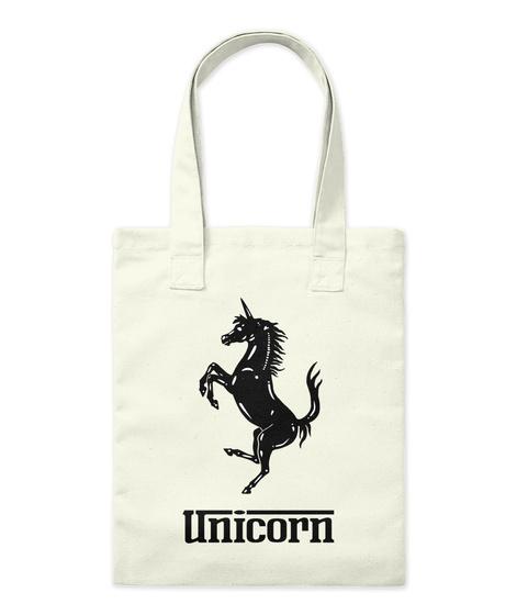 Unicorn Natural T-Shirt Front