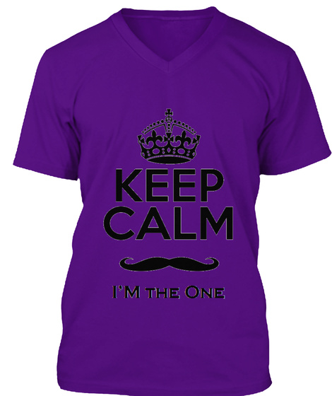 Sexy Male Tee Team Purple T-Shirt Front