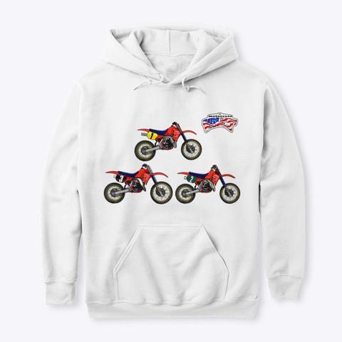 The Dream Team '86 White T-Shirt Front