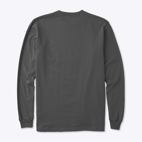 Irish? I Wish! Charcoal T-Shirt Back