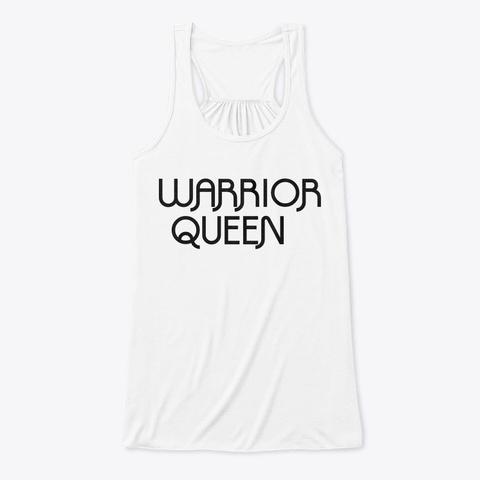 Warrior Queen Tee White T-Shirt Front