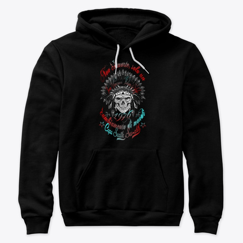 Capo Seattle Black T-Shirt Front