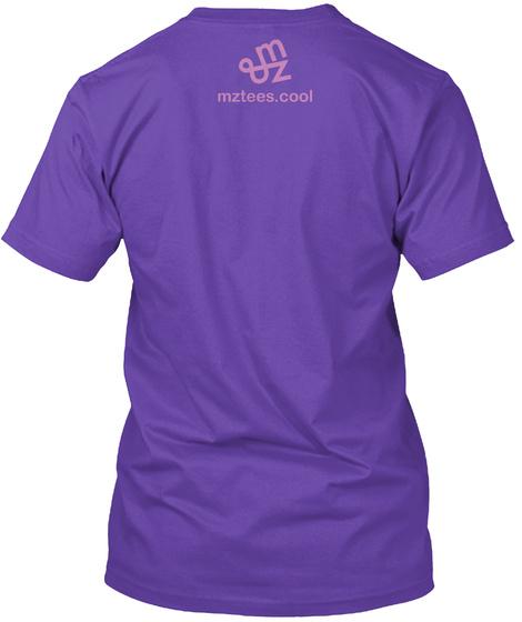 Yo Resolution Lavender Purple Purple Rush T-Shirt Back