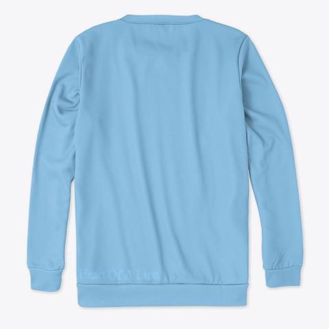 Heart Of A Lion Light Blue T-Shirt Back