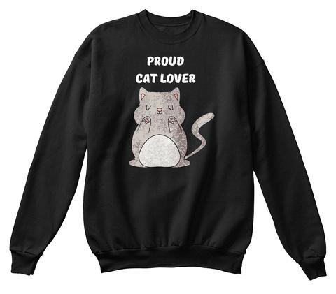 Proud Lover Black T-Shirt Front