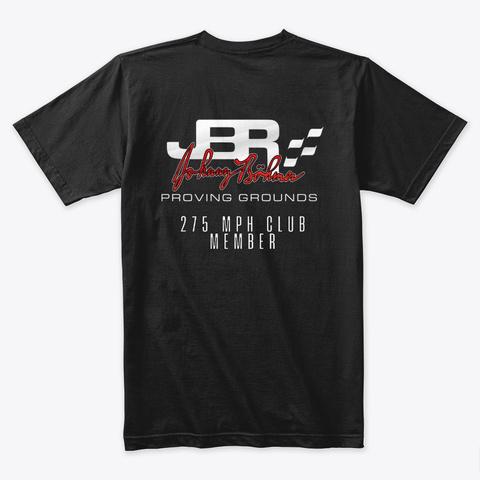 Jbpg 275 Mph Club Shirt Black T-Shirt Back
