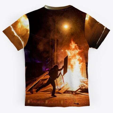 #Riots2020 Protest Shirts To 5x Black T-Shirt Back