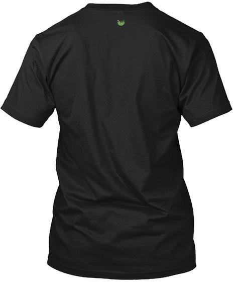 Tree + Tree Tshirt  Black T-Shirt Back