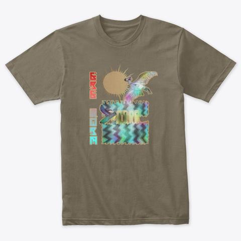 Ere Qora (Redux) Venetian Gray T-Shirt Front