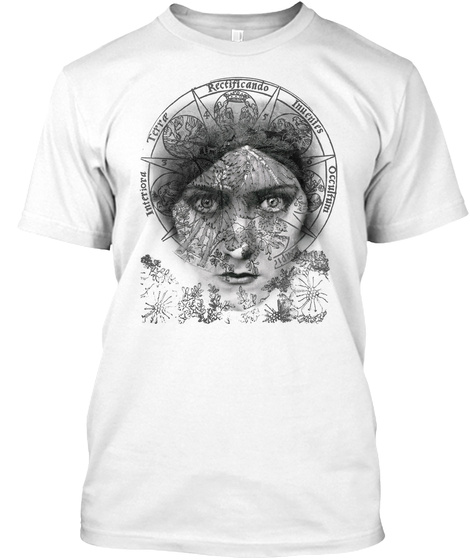 The Eyes Of Alchemy White T-Shirt Front