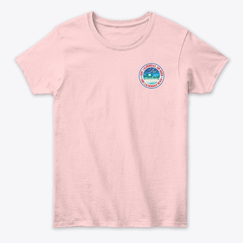 Image Not Opening Light Pink T-Shirt Front
