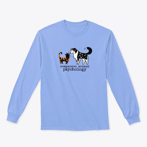 Companion Animal Psychology Light Blue T-Shirt Front