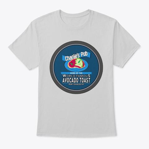 General Hospital Charlie's Pub T Shirt Light Steel T-Shirt Front